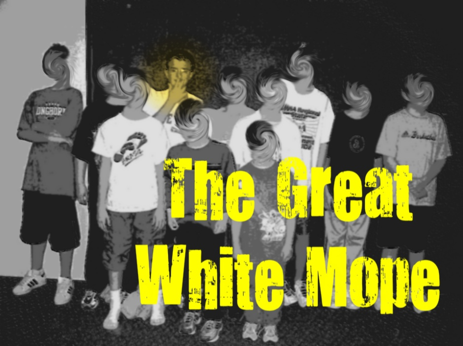The Great White Mope Podcast Cover